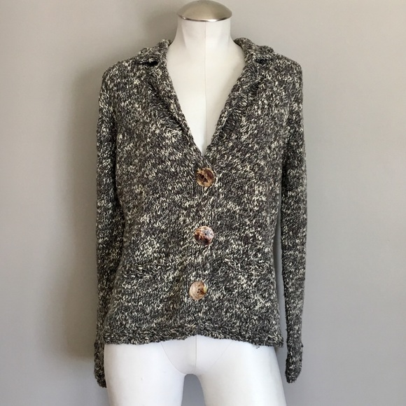 Nomadic Traders Chunky Knitted Button Cardigan